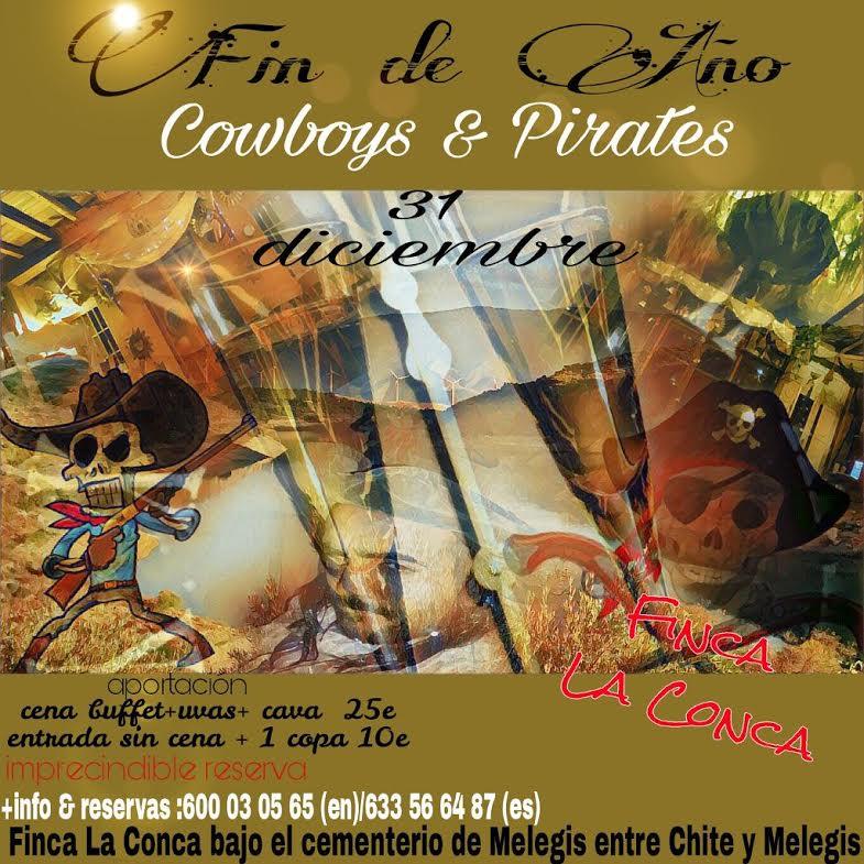 Pirates of La Conca Fancy Dress Party